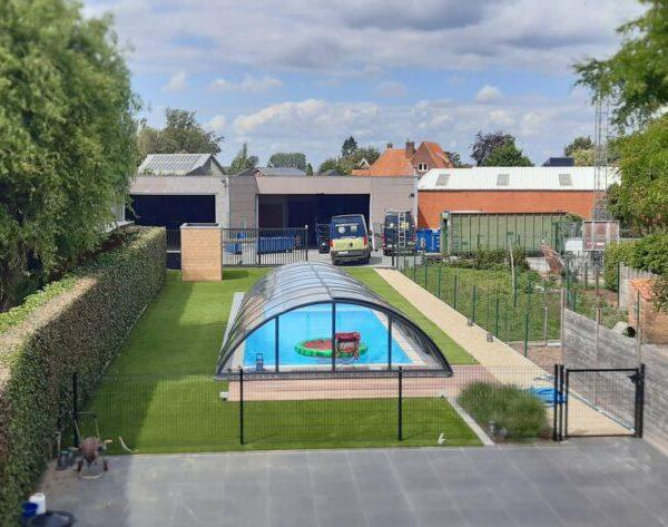 Tuin-kunstgras met zwembad-1024x473