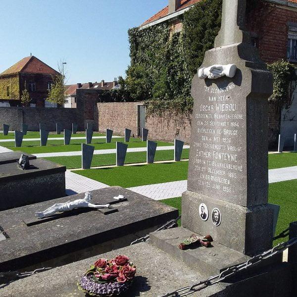 Wave kunstgras begraafplaats